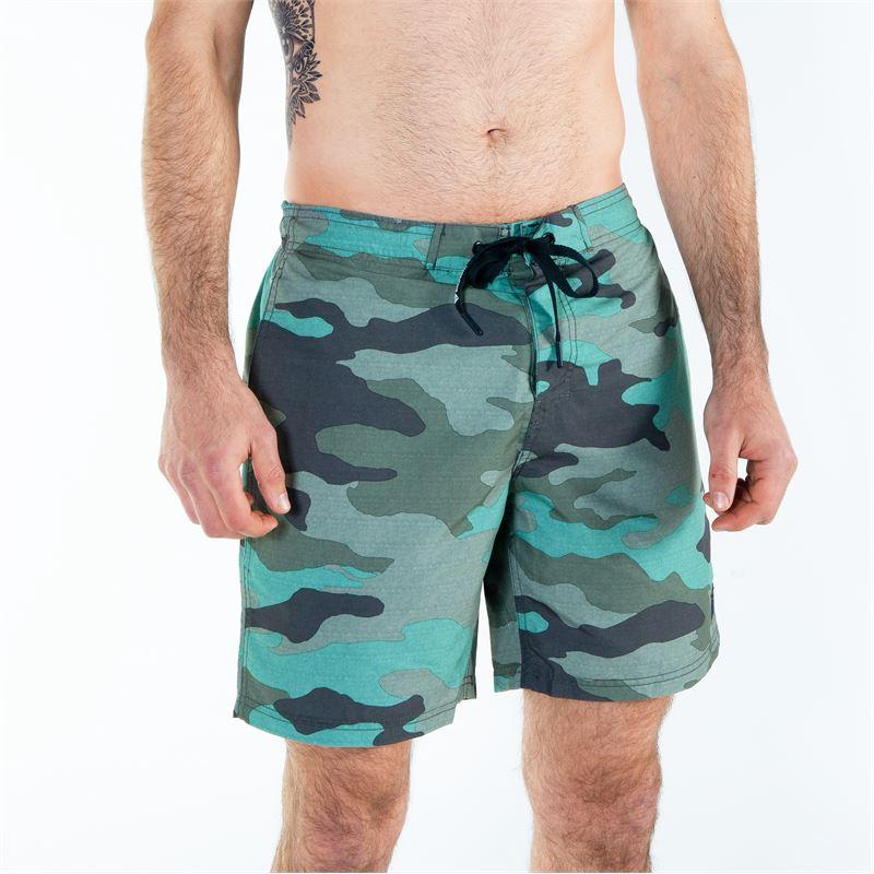 Brunotti Madslide  (groen) - heren zwemshorts - Brunotti online shop