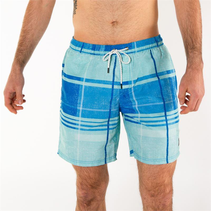 Brunotti Rapid  (blauw) - heren zwemshorts - Brunotti online shop