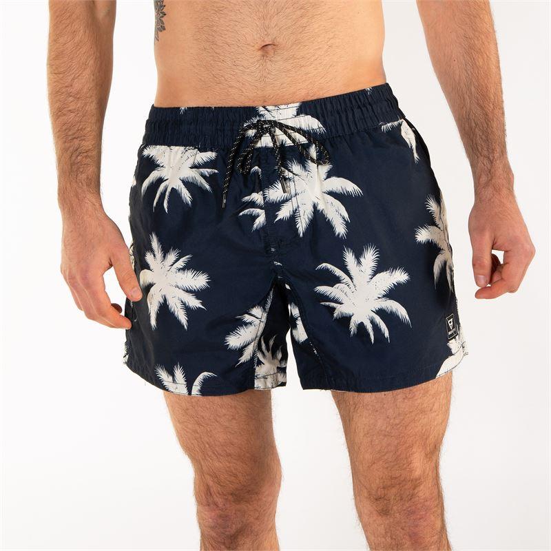 Brunotti Crunot  (grijs) - heren zwemshorts - Brunotti online shop