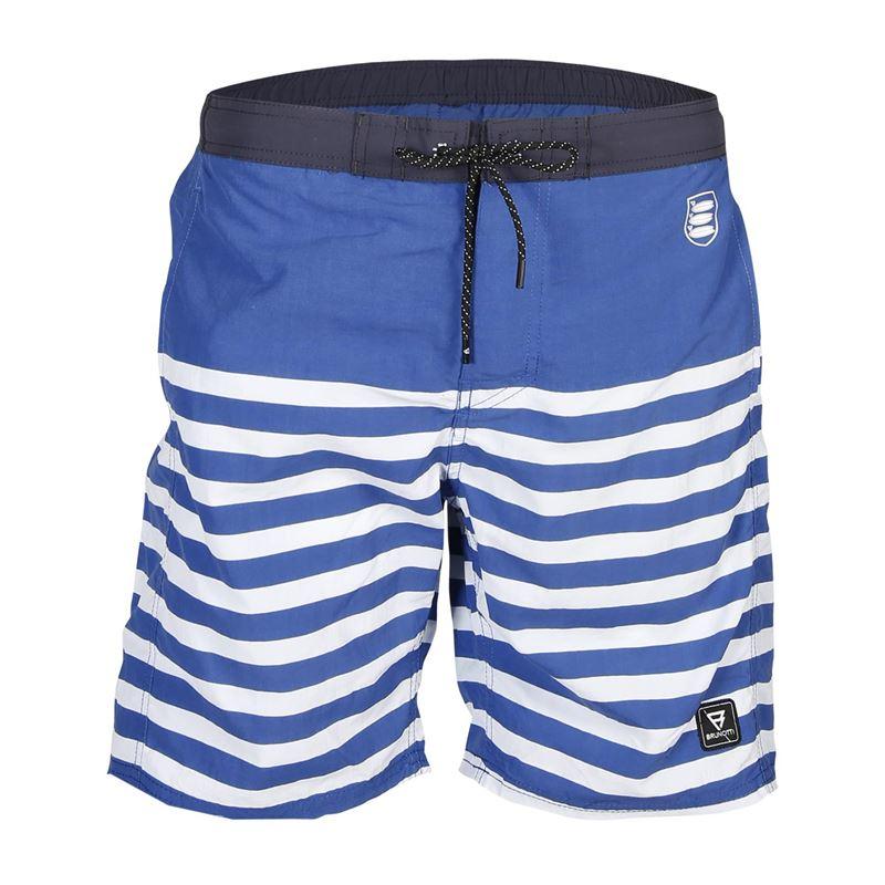 Brunotti Louvar  (blauw) - heren zwemshorts - Brunotti online shop