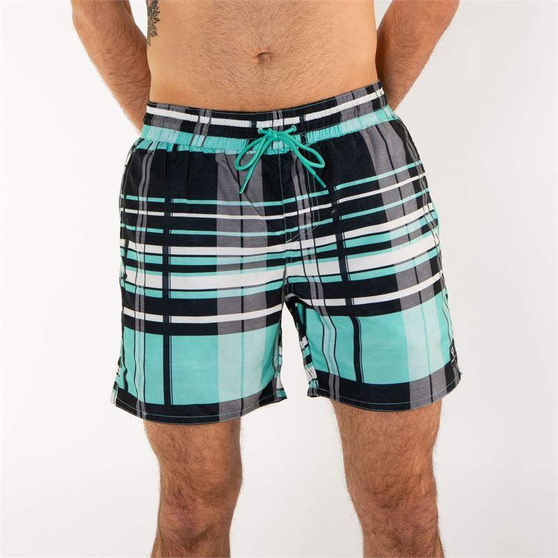 Brunotti Andros  (blauw) - heren zwemshorts - Brunotti online shop