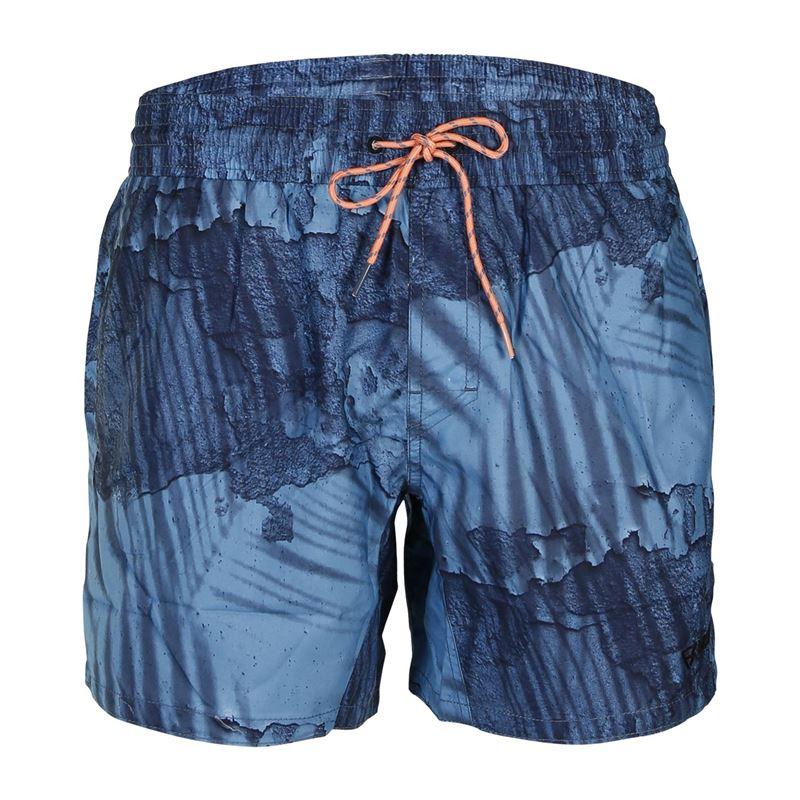 Brunotti Trogon  (blauw) - heren zwemshorts - Brunotti online shop