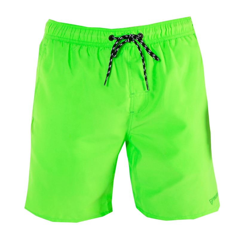 Brunotti Matrix  (groen) - heren zwemshorts - Brunotti online shop