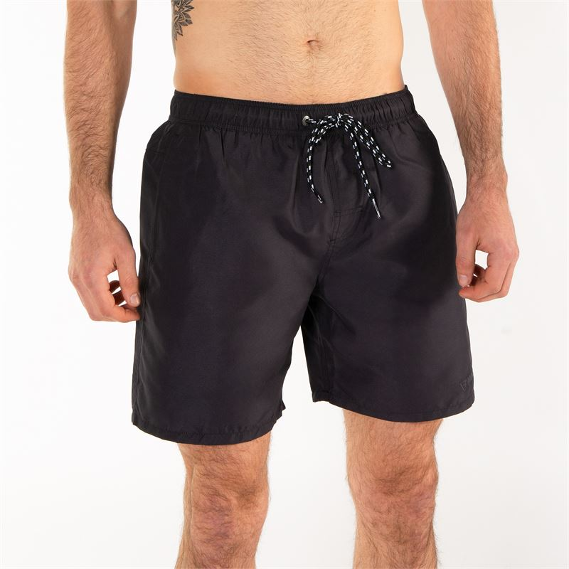 Brunotti Matrix  (zwart) - heren zwemshorts - Brunotti online shop