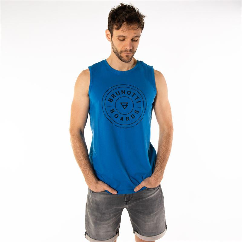 Brunotti Ackley  (blau) - herren t-shirts & polos - Brunotti online shop