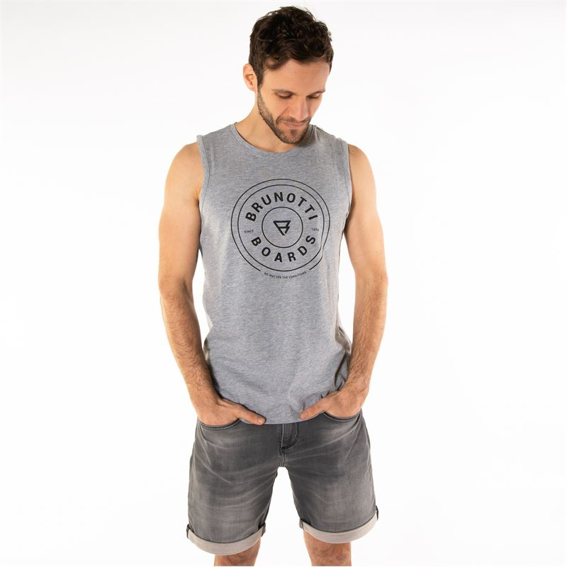 Brunotti Ackley  (grey) - men t-shirts & polos - Brunotti online shop