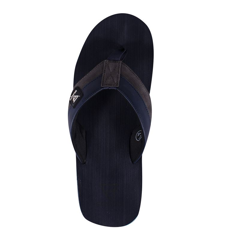 Brunotti Brushed  (blauw) - heren slippers - Brunotti online shop