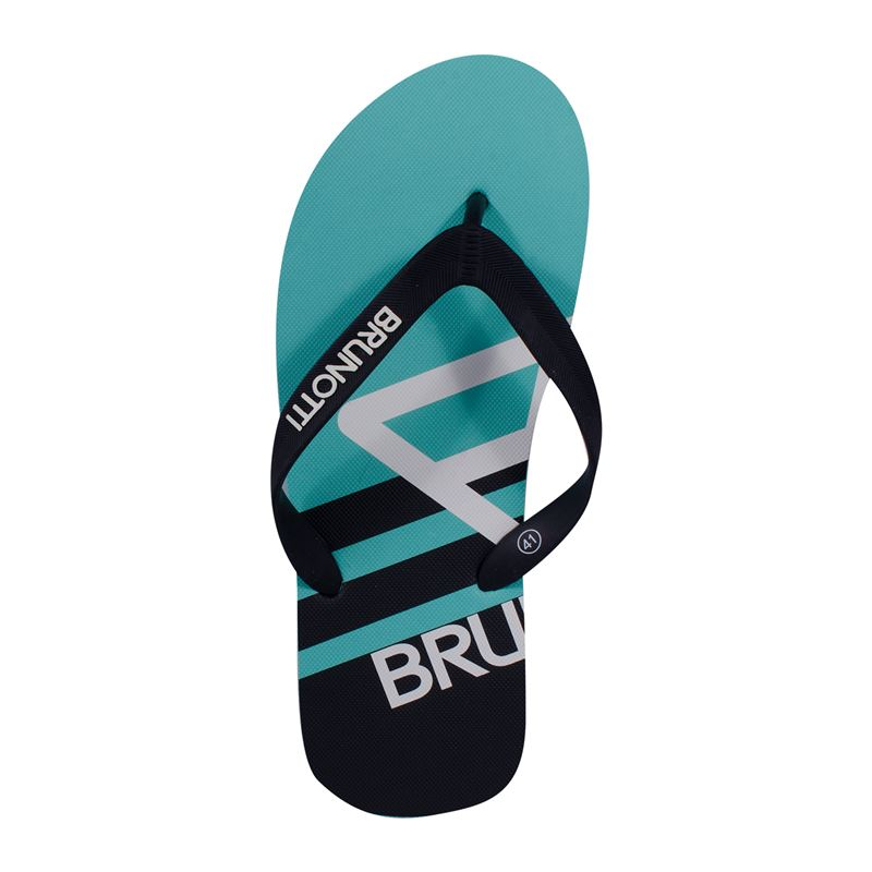 Brunotti Abalone  (blauw) - heren slippers - Brunotti online shop
