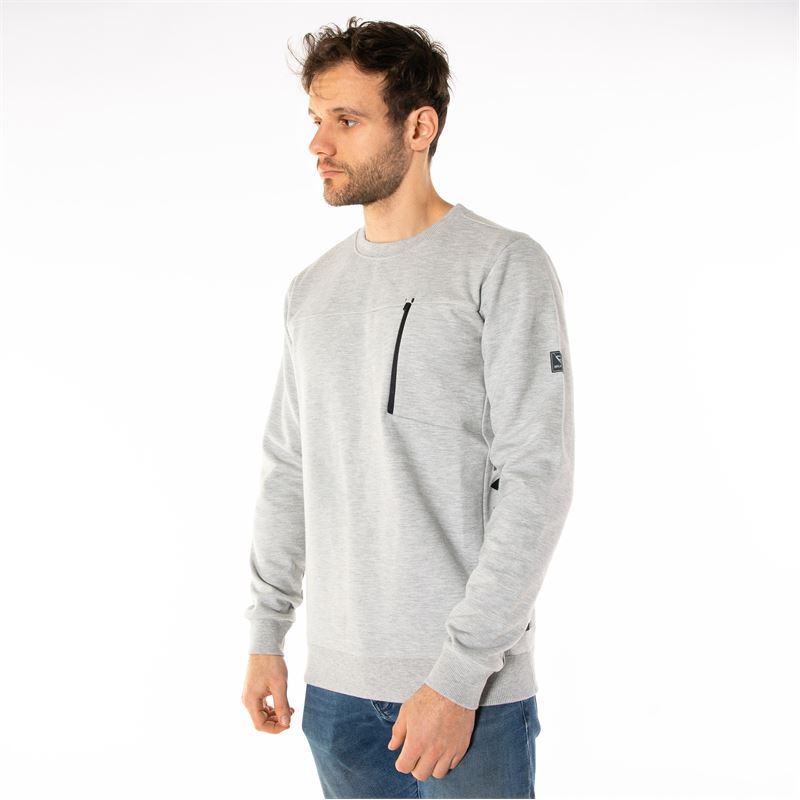 Brunotti Sidecar  (grey) - men sweats & cardigans - Brunotti online shop