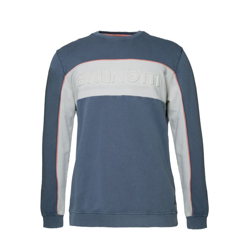 Brunotti Thar  (blauw) - heren truien & vesten - Brunotti online shop