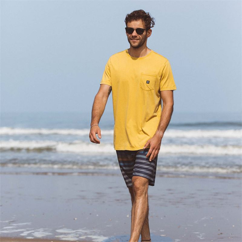 Brunotti Axle  (yellow) - men t-shirts & polos - Brunotti online shop