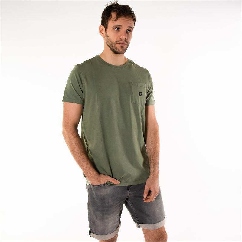 Brunotti Axle  (groen) - heren t-shirts & polo's - Brunotti online shop