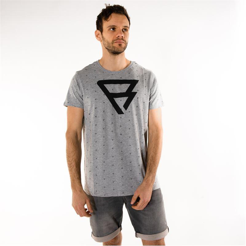 Brunotti Isaac  (grijs) - heren t-shirts & polo's - Brunotti online shop