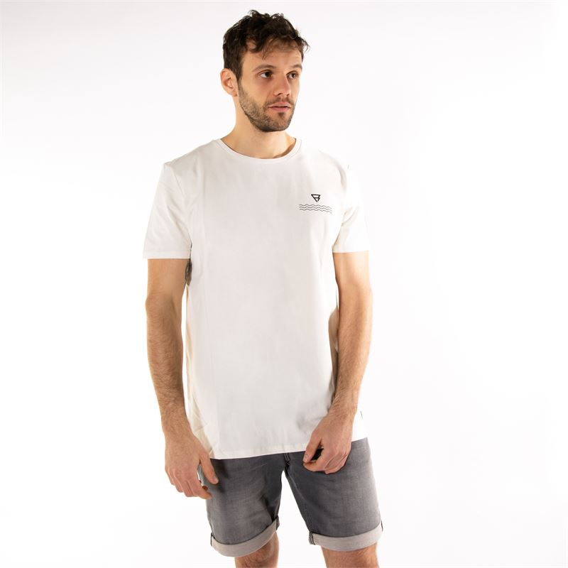 Brunotti Allis  (white) - men t-shirts & polos - Brunotti online shop