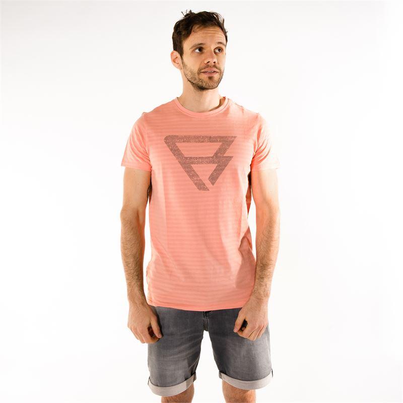 Brunotti Marzo  (pink) - men t-shirts & polos - Brunotti online shop