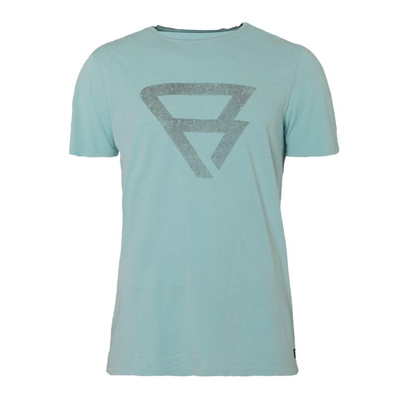 Brunotti Marzo  (blauw) - heren t-shirts & polo's - Brunotti online shop