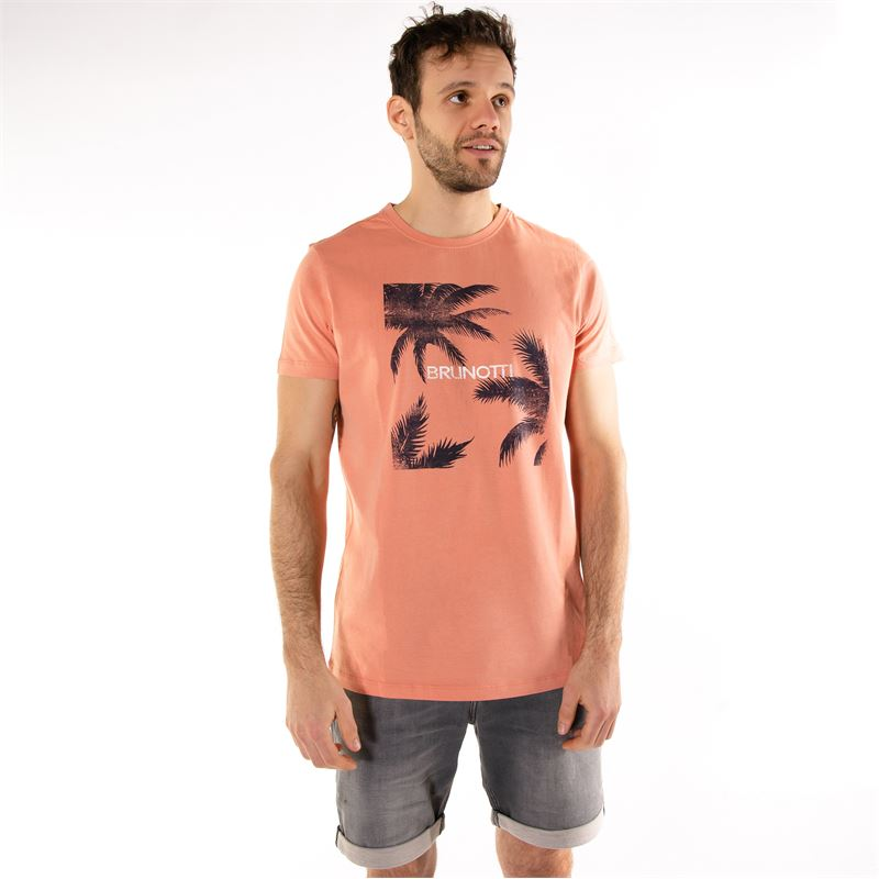 Brunotti Gus  (pink) - men t-shirts & polos - Brunotti online shop