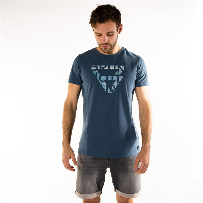 Brunotti Gus  (blue) - men t-shirts & polos - Brunotti online shop