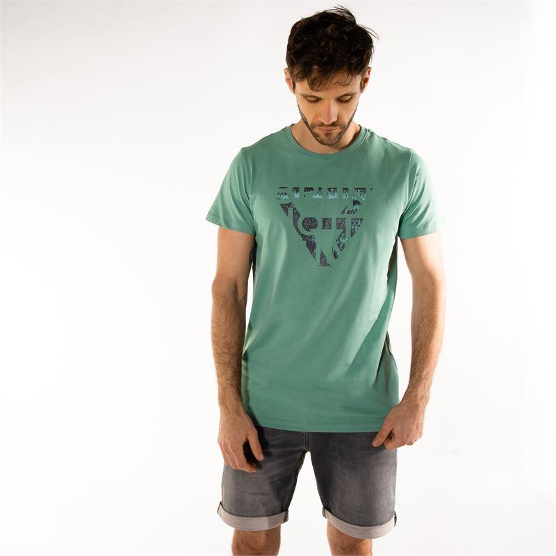 Brunotti Gus  (grün) - herren t-shirts & polos - Brunotti online shop