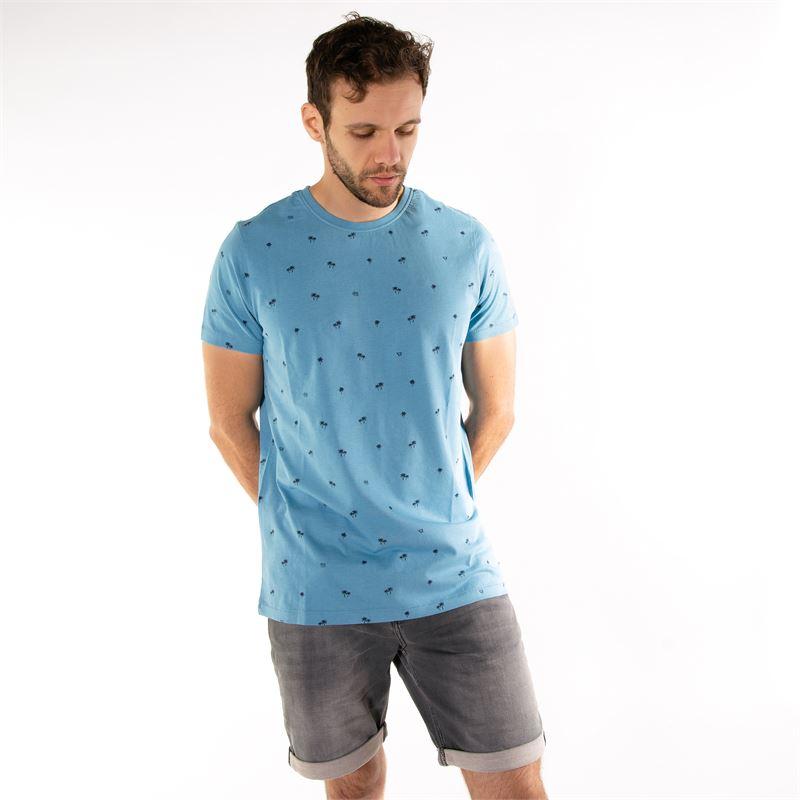 Brunotti Burrow  (blue) - men t-shirts & polos - Brunotti online shop
