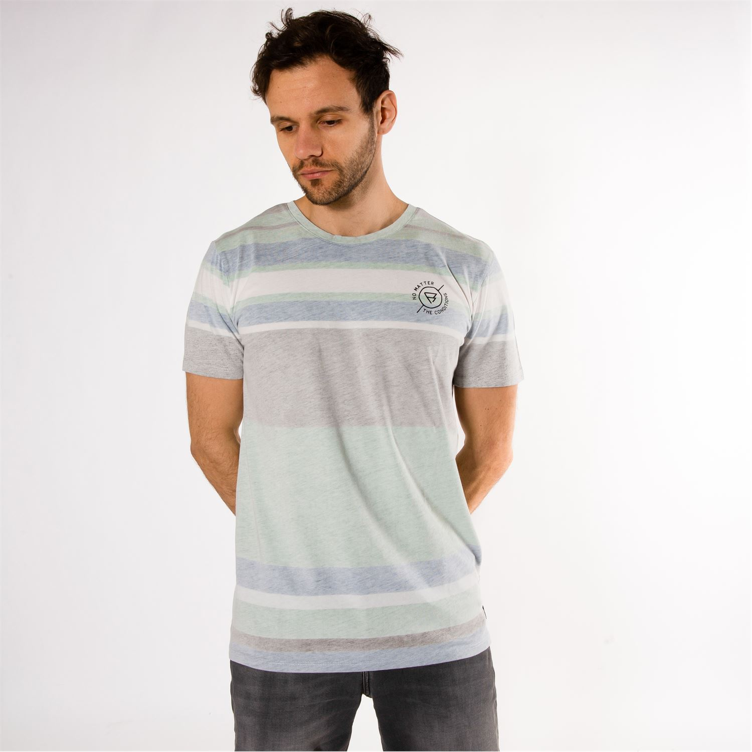 fce2580e3e4 ... t-shirts   polos - Brunotti online shop. Our model is 183 cm tall and  wears size M