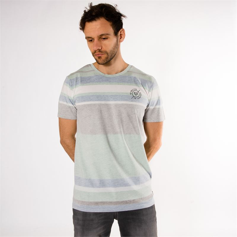 Brunotti Jeb  (groen) - heren t-shirts & polo's - Brunotti online shop