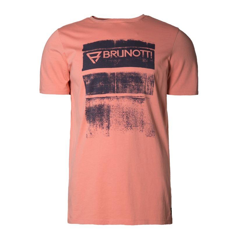 Brunotti Bart  (roze) - heren t-shirts & polo's - Brunotti online shop