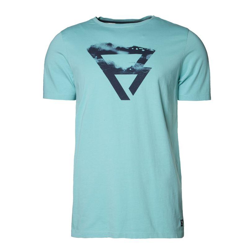 Brunotti Bart  (blauw) - heren t-shirts & polo's - Brunotti online shop