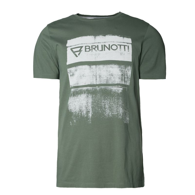 Brunotti Bart  (groen) - heren t-shirts & polo's - Brunotti online shop