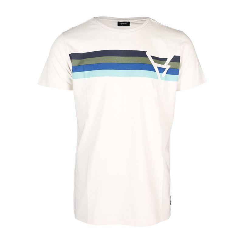Brunotti Keith  (wit) - heren t-shirts & polo's - Brunotti online shop
