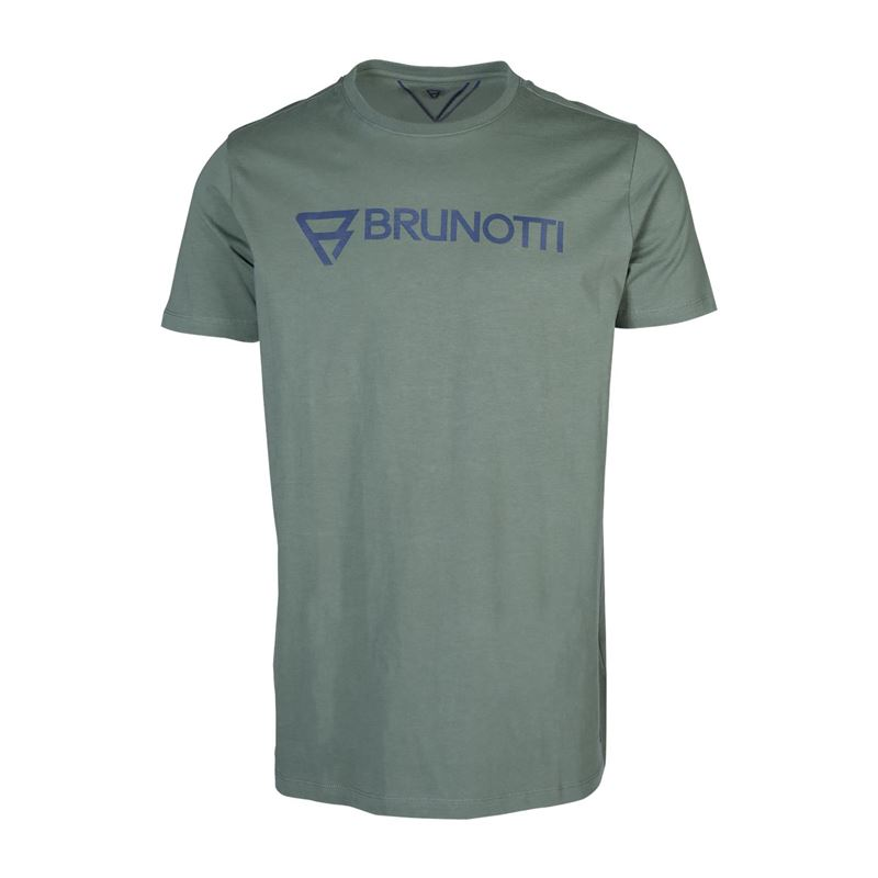 Brunotti Blazes  (groen) - heren t-shirts & polo's - Brunotti online shop