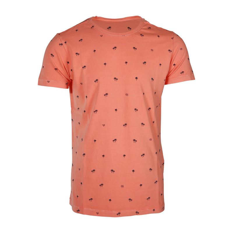 Brunotti Burrow  (roze) - heren t-shirts & polo's - Brunotti online shop
