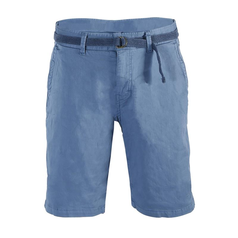 Brunotti Cabbers  (blauw) - heren casual shorts - Brunotti online shop