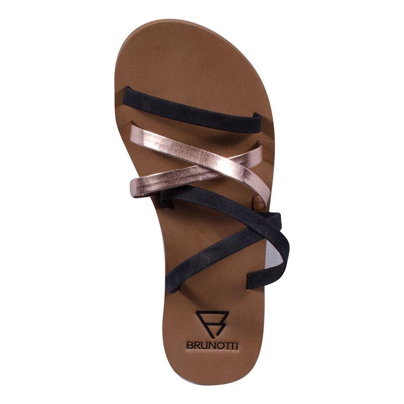 Brunotti Valentina  (zwart) - dames slippers - Brunotti online shop