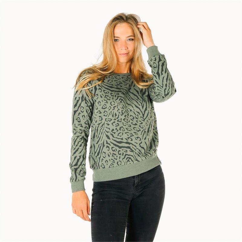 Brunotti Luisa  (groen) - dames truien & vesten - Brunotti online shop