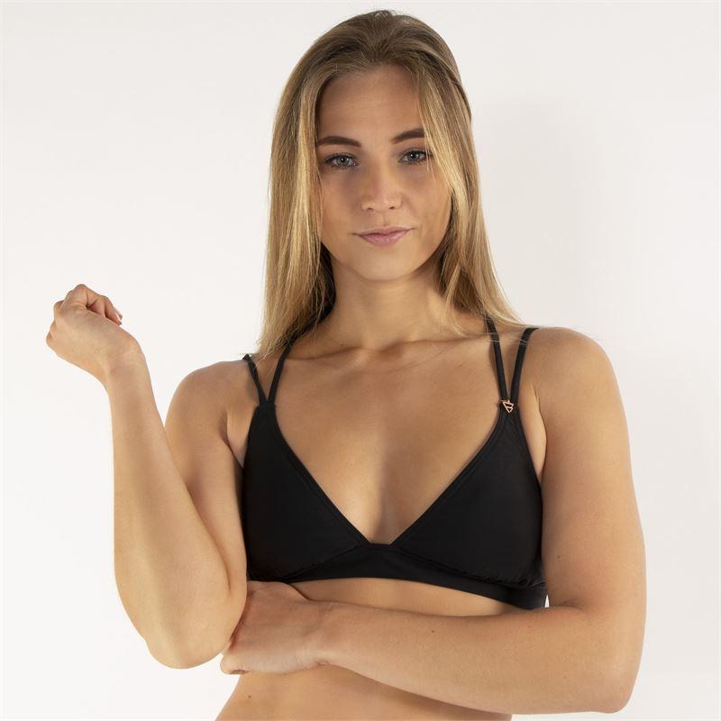 Brunotti Delphinia  (zwart) - dames bikini's - Brunotti online shop