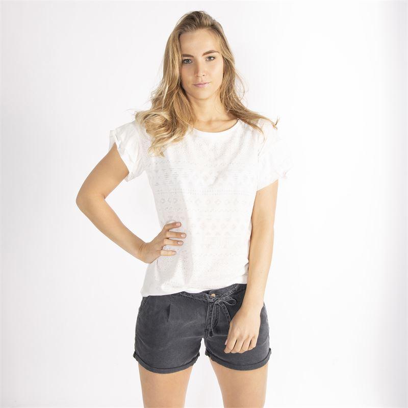 Brunotti Tina  (wit) - dames t-shirts & topjes - Brunotti online shop