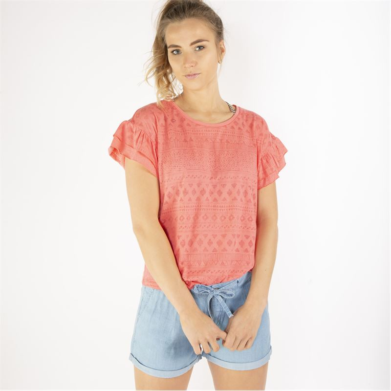 Brunotti Tina  (pink) - women t-shirts & tops - Brunotti online shop