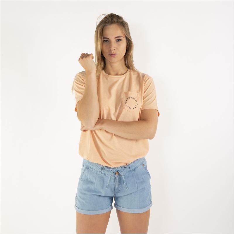 Brunotti Sungem  (roze) - dames t-shirts & topjes - Brunotti online shop