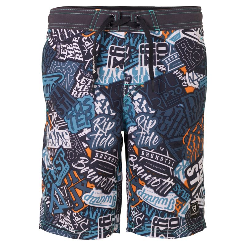 Brunotti Timin  (blue) - boys swimshorts - Brunotti online shop