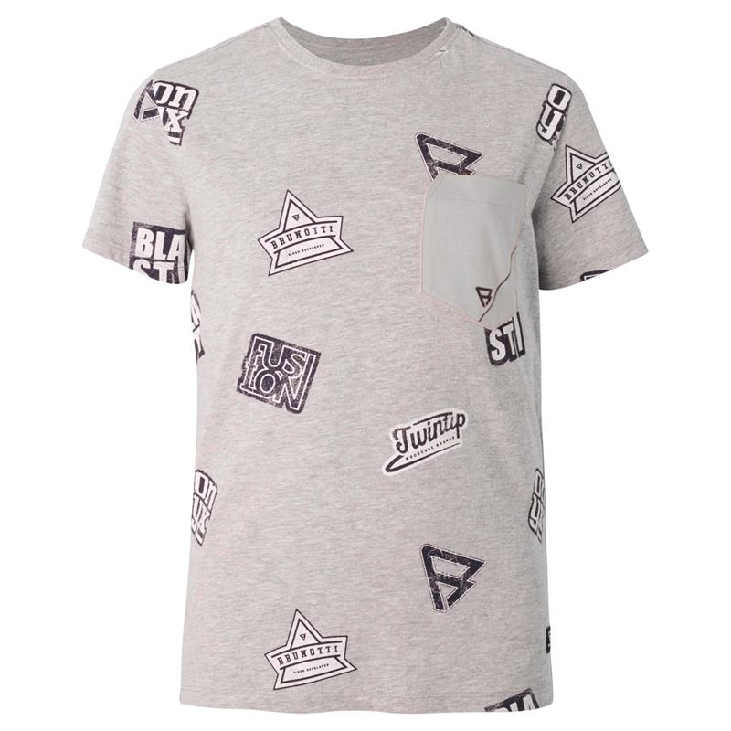 Brunotti Kit  (grey) - boys t-shirts & polos - Brunotti online shop