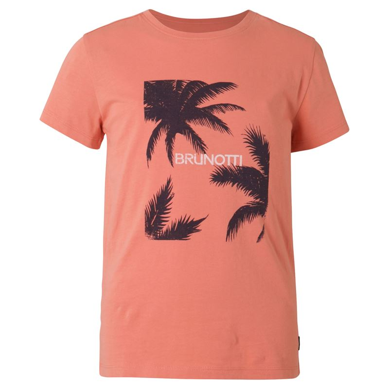 Brunotti Johna  (roze) - jongens t-shirts & polo's - Brunotti online shop