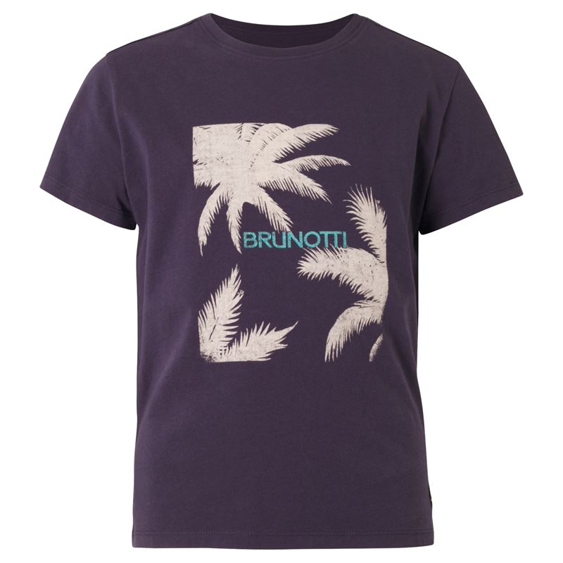 Brunotti Johna  (blauw) - jongens t-shirts & polo's - Brunotti online shop
