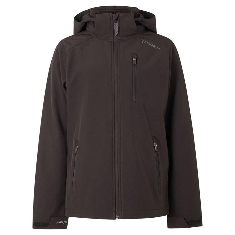 Brunotti Mosky  (zwart) - jongens jassen - Brunotti online shop
