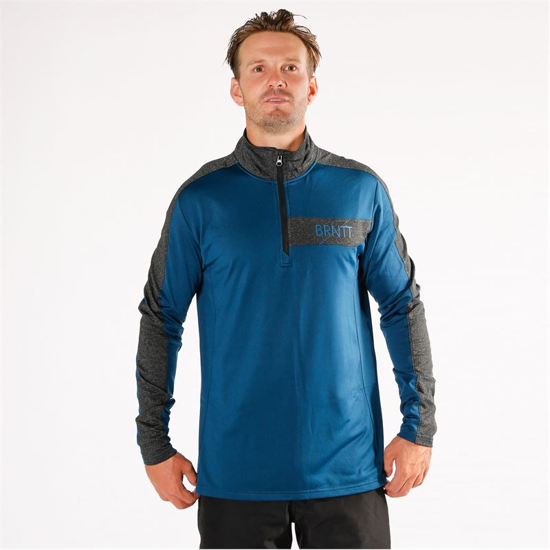 Brunotti Grebe  (blue) - men fleeces - Brunotti online shop