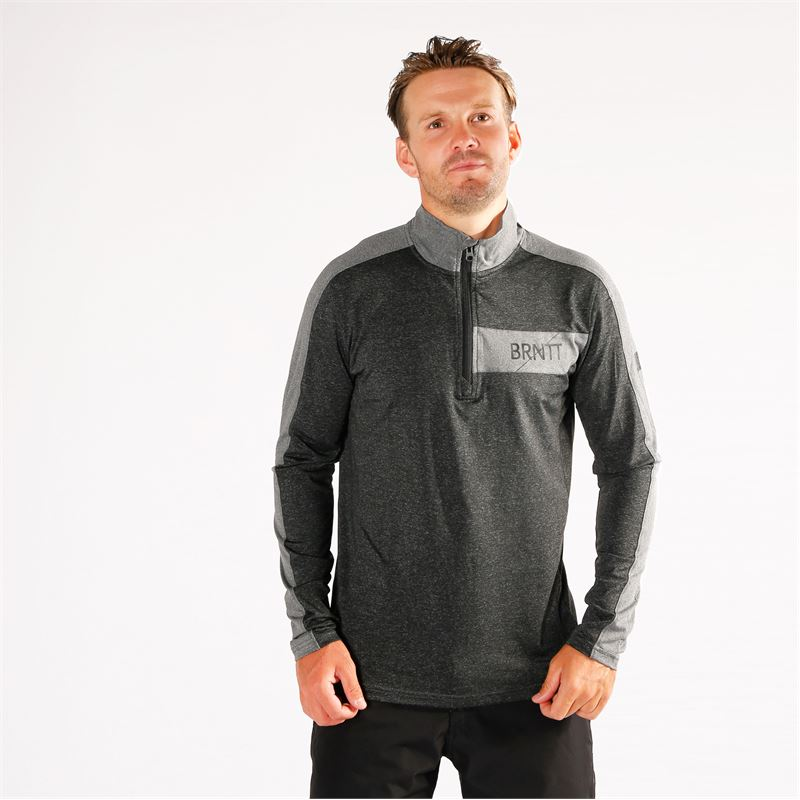 Brunotti Grebe  (grey) - men fleeces - Brunotti online shop