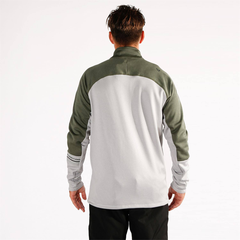 Details about  /Brunotti Fleece Jacket mesite Mens Fleece Light Grey breathable warmth show original title