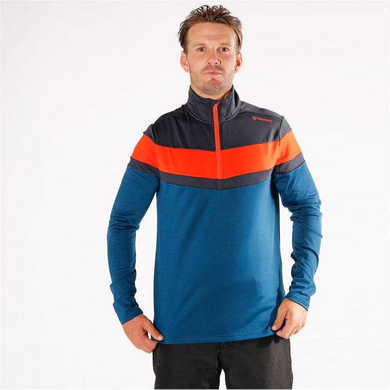 Brunotti Thornbill  (blau) - herren fleeces - Brunotti online shop