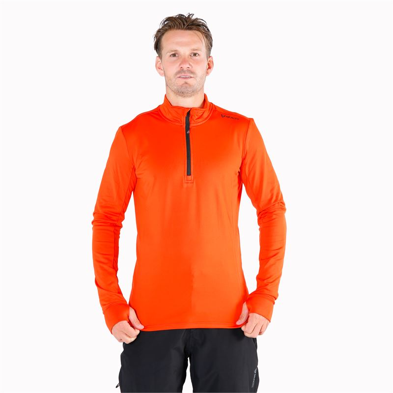 Brunotti Terni  (rood) - heren fleeces - Brunotti online shop