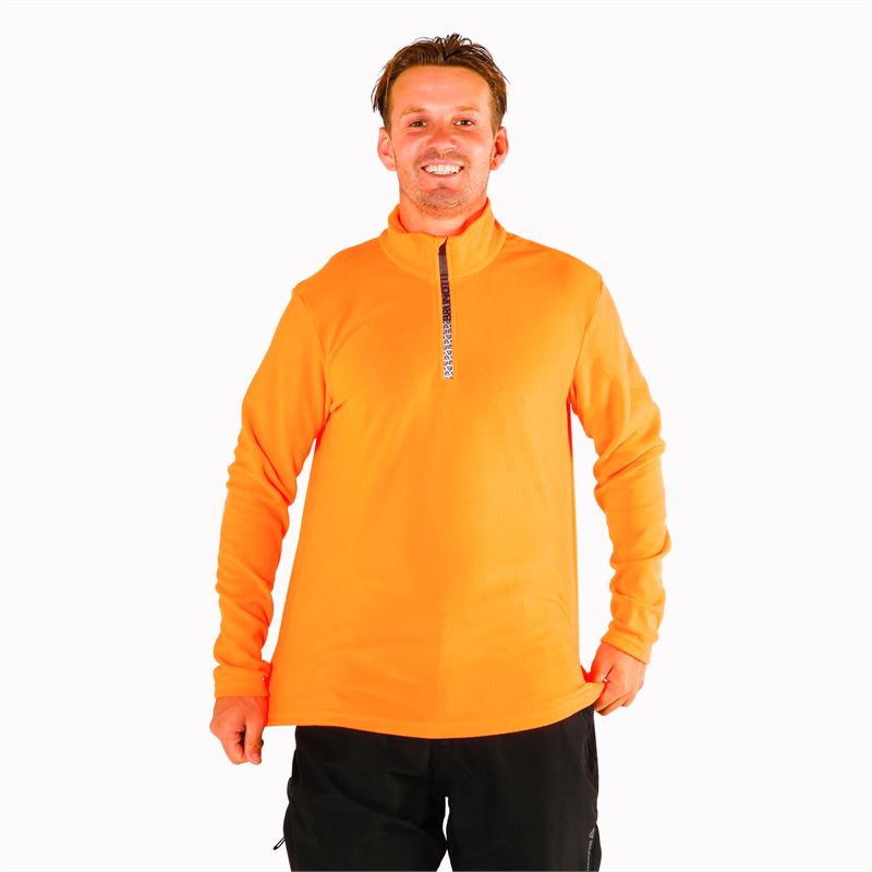 Brunotti Tenno  (orange) - herren fleeces - Brunotti online shop